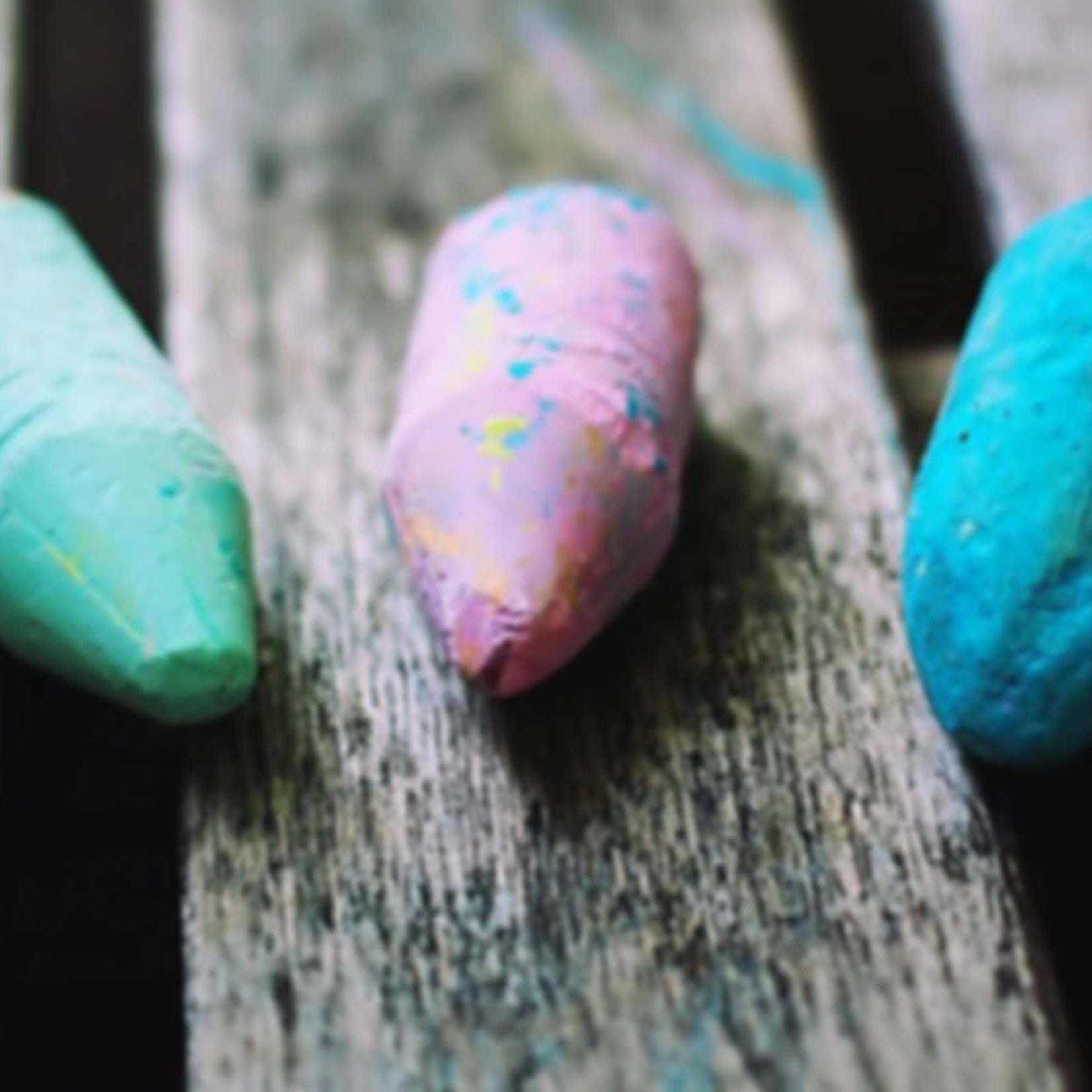 chalk-blur